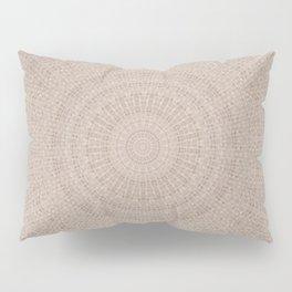 Pallid Base Mandala Pillow Sham