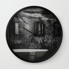 The floating woman Wall Clock
