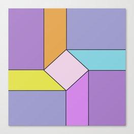 Abstract Geometrc Mill Canvas Print