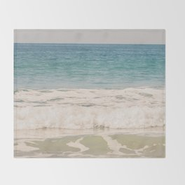 Beach Waves Throw Blanket