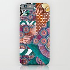 Abstract mandala experiment iPhone 6s Slim Case