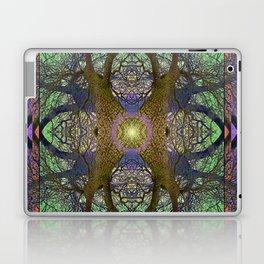 ANCIENT PEAR TREE MANDALA Laptop & iPad Skin