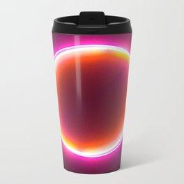 Neon Circle Metal Travel Mug