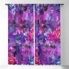 Violet Fields Blackout Curtain