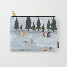the great paper boat race Carry-All Pouch
