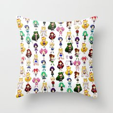 Fighting Evil by MOONLIGHT Throw Pillow