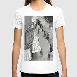 1906 Westminster Street Cityscape Scene, Providence, Rhode Island T-shirt