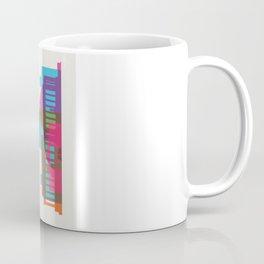 Shapes of Washington D.C. Accurate to scale Coffee Mug