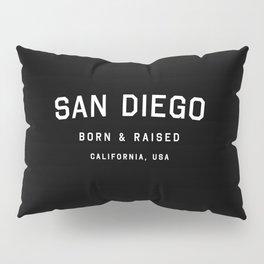 San Diego - CA, USA (Arc) Pillow Sham