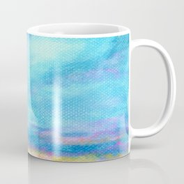 Good Morning, Beach House Sunrise Coffee Mug