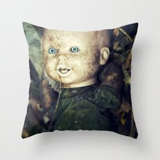 Dirty Babay Throw Pillow
