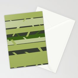 Trees - Green Stationery Cards