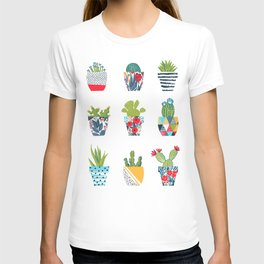 Funny cacti illustration T-shirt
