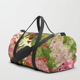 flowers pattern 32 #flowers #flora #pattern Duffle Bag