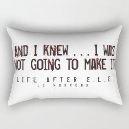 """""""And I knew..."""" Rectangular Pillow"""