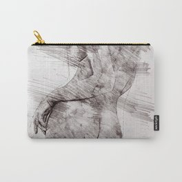 Nude woman pencil drawing Carry-All Pouch