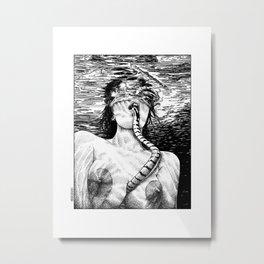 asc 509 - La morsure salée (The salty bite)  Second version Metal Print
