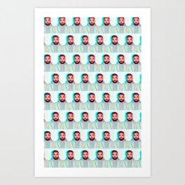 HOT-LINE-BLING Art Print