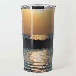 Sunset Ocean Bliss #6 #nature #art #society6 Travel Mug