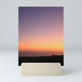PACIFIC MOONRISE Mini Art Print