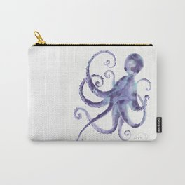 Little Purple Octopus Carry-All Pouch