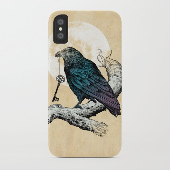 Raven's Key iPhone Case