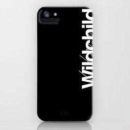 Wildchild_black iPhone Case
