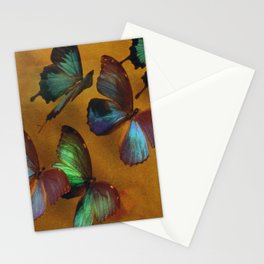 Butterflies In Exquisite Flight Stationery Cards