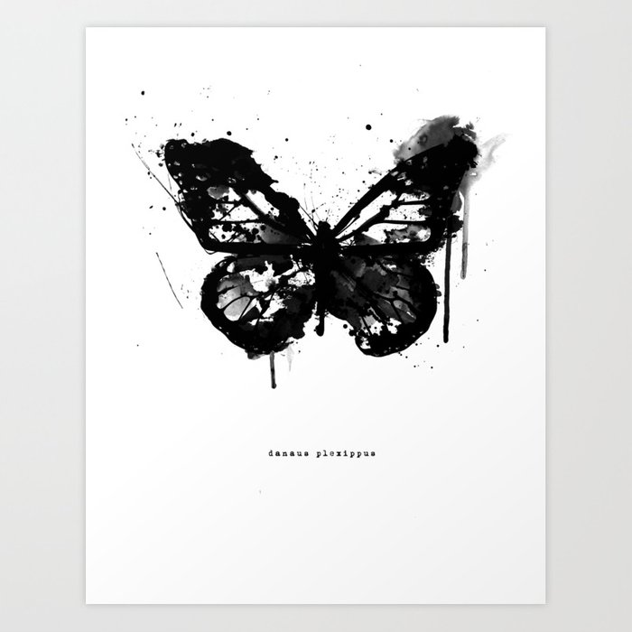 Discover the motif BLACK MONARCH by Amy Hamilton as a print at TOPPOSTER