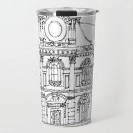 Southeast Asia Sketches: Backpacker Hostel; Kuala Lumpur Travel Mug