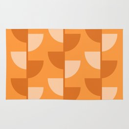 Orange Slices In The Summer - Fruit Series Rug
