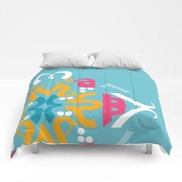 Blue Arabic Comforters