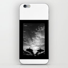 Sky  Explosion iPhone Skin