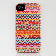 India Style Pattern (Multicolor) iPhone (4, 4s) Slim Case