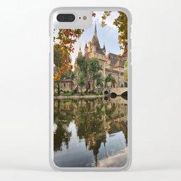 Magic Castle Clear iPhone Case