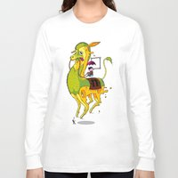 lama Long Sleeve T-shirts featuring Lama by ART OF SOOL