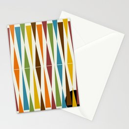 Mid-Century Modern Art 1.4 Stationery Cards