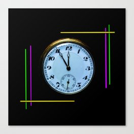 Time is Money Canvas Print