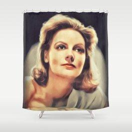 Greta Garbo, Vintage Actress Shower Curtain