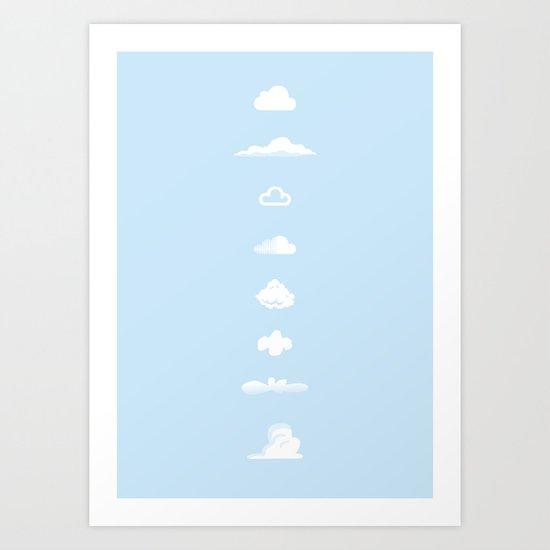 Famous Clouds Art Print