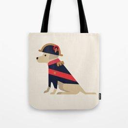 Napoleon, dog emperor Tote Bag