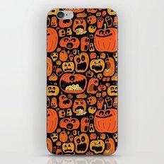 Pumpkin Pattern iPhone & iPod Skin