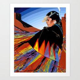 Shawl Dancer Art Print