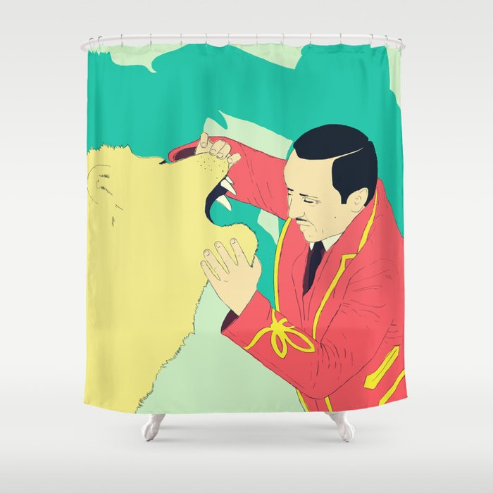 Circus Shower Curtain By Ministryofpixel