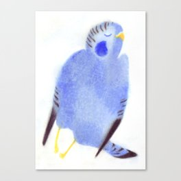 """Un oiseau entend..."" Book cover Canvas Print"