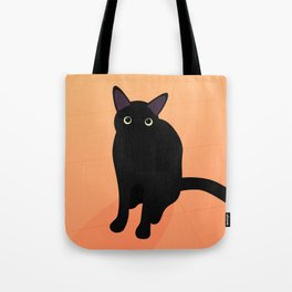 Cafe Kitty Tote Bag