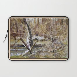 Somewhere in  America Laptop Sleeve