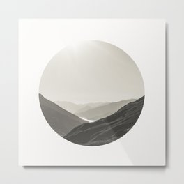 Outskirts of Queenstown Metal Print
