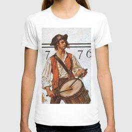 12,000pixel-500dpi - Joseph Christian Leyendecker - Militiaman - Digital Remastered Edition T-shirt