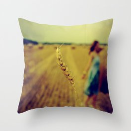 straw Throw Pillow